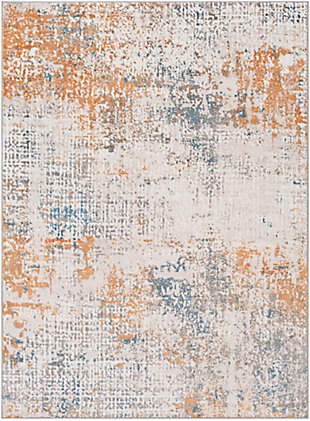 "Surya Rafina 5'3"" x 7'3"" Area Rug, Orange, large"
