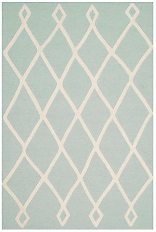 Safavieh 4' x 6' Rug, Blue, large