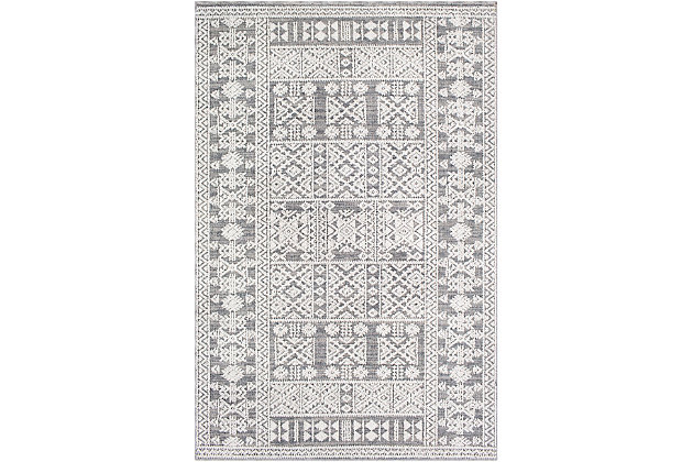"""Home Accent Effie 5'3"""" x 7'3"""" Area Rug, Brown/Beige, large"""