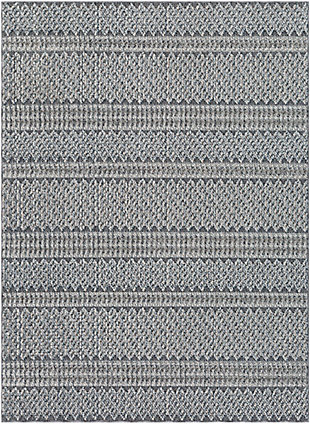 "Home Accent Irma 5'3"" x 7'3"" Area Rug, Black/Gray, large"