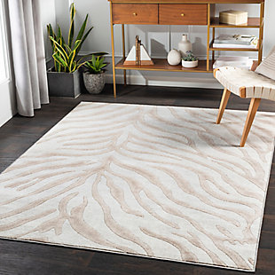 "Home Accent Shonta 5'3"" x 7'3"" Area Rug, Brown/Beige, rollover"