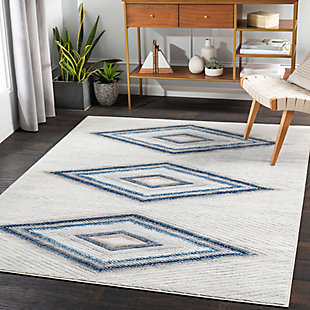 "Home Accent Destiny 5'3"" x 7'3"" Area Rug, Brown/Beige, large"
