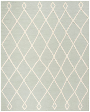 Rectangular 8' x 10' Rug, Blue, large