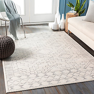"Surya Roma 5'3"" x 7'1"" Area Rug, Brown/Beige, rollover"