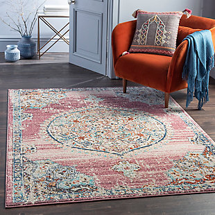 "Home Accent Allender 5'3"" x 7'3"" Area Rug, Brown/Beige, rollover"