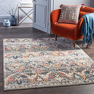 "Home Accent Berwick 5'3"" x 7'3"" Area Rug, Brown/Beige, rollover"
