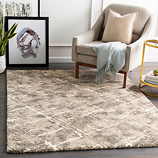 "Home Accent Giddens 5'3"" x 7'3"" Area Rug, Brown/Beige, rollover"