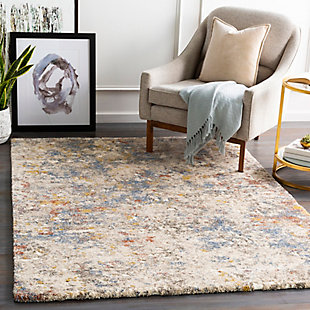 """Home Accent Stamant 5'3"""" x 7'3"""" Area Rug, Metallic, rollover"""