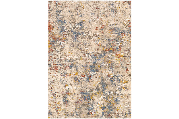 """Home Accent Stamant 5'3"""" x 7'3"""" Area Rug, Metallic, large"""