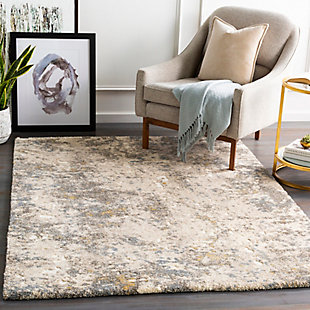 "Home Accent Delapp 5'3"" x 7'3"" Area Rug, Brown/Beige, rollover"