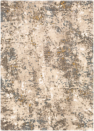 "Home Accent Delapp 5'3"" x 7'3"" Area Rug, Brown/Beige, large"