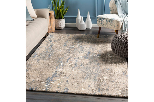 """Home Accent Arrowood 5'3"""" x 7'3"""" Area Rug, Beige, large"""