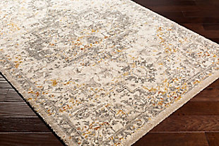 """Home Accent Downer 5'3"""" x 7'3"""" Area Rug, Metallic, large"""