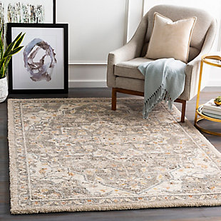 "Home Accent Florine 5'3"" x 7'3"" Area Rug, Brown/Beige, rollover"