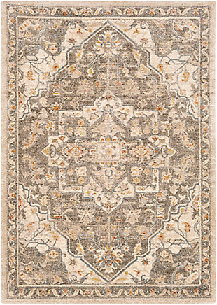 "Home Accent Florine 5'3"" x 7'3"" Area Rug, Brown/Beige, large"
