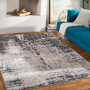 """Home Accent Trent 5'3"""" x 7'3"""" Area Rug, Brown/Beige, rollover"""