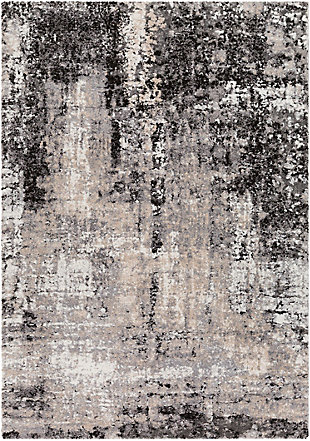 """Home Accent Trent 5'3"""" x 7'3"""" Area Rug, Brown/Beige, large"""