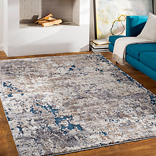 "Home Accent Tollivar 5'3"" x 7'3"" Area Rug, Blue, rollover"