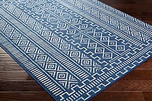 """Surya Ustad 5'3"""" x 7'3"""" Area Rug, Blue, large"""