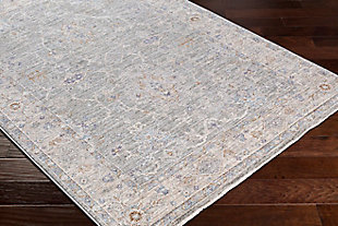 "Home Accent Ella 5'3"" x 7'7"" Area Rug, Black/Gray, rollover"