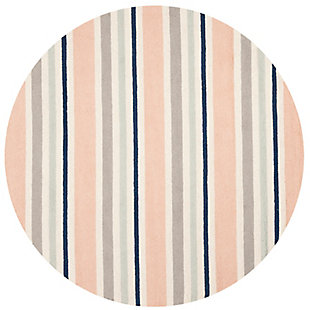 Safavieh 5' x 5' Round Rug, White, large