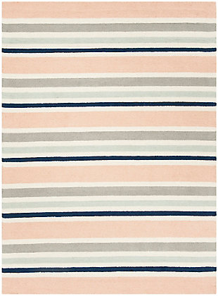 Rectangular 6' x 9' Rug, White, large