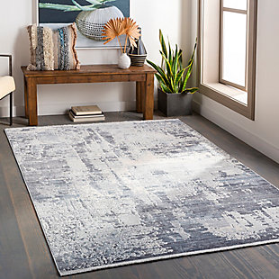 "Home Accent Jin 5' x 7'10"" Area Rug, Black/Gray, rollover"