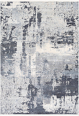 "Home Accent Jin 5' x 7'10"" Area Rug, Black/Gray, large"