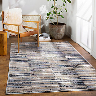 "Home Accent Jazmin 5' x 7'10"" Area Rug, Brown/Beige, rollover"