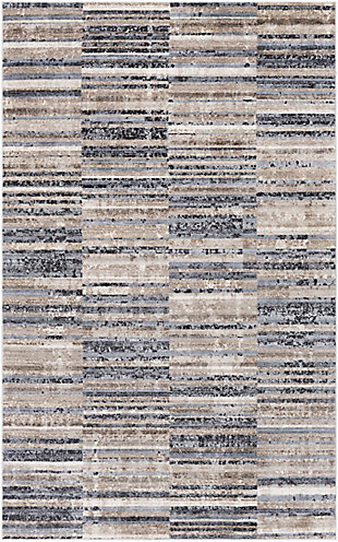"Home Accent Jazmin 5' x 7'10"" Area Rug, Brown/Beige, large"