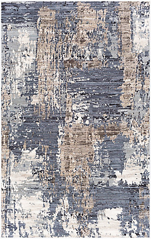 "Home Accent Eustolia 5' x 7'10"" Area Rug, Blue, large"