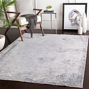 "Home Accent Elena 5' x 7'10"" Area Rug, Purple, rollover"