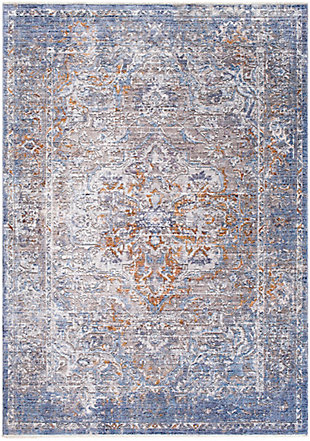 "Home Accent Isidra 5' x 7'10"" Area Rug, Blue, large"