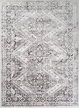 "Surya Wanderlust 5'3"" x 7'3"" Area Rug, Black/Gray, large"