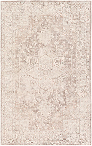 "Home Accent Monty 5' x 7'6"" Area Rug, Brown/Beige, large"