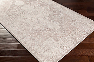 """Home Accent Monty 5' x 7'6"""" Area Rug, Brown/Beige, large"""