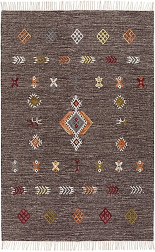 """Home Accent Edris 5' x 7'6"""" Area Rug, Brown/Beige, large"""