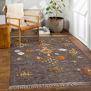 "Home Accent Armand 5' x 7'6"" Area Rug, Brown/Beige, rollover"