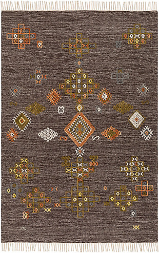 "Home Accent Armand 5' x 7'6"" Area Rug, Brown/Beige, large"