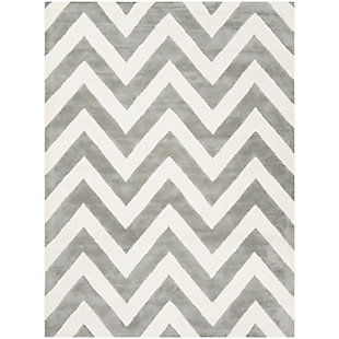 Rectangular 5' x 7' Rug, Gray, large