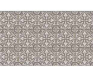 FlorArt Javid Taupe FlorArt 3'x5' Floor Mat, Brown, large