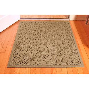 Waterhog Boxwood 3' x 5' Doormat, Camel, rollover