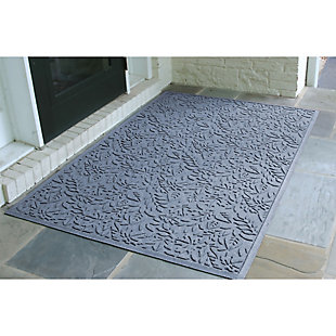Waterhog Fall Day 3' x 5' Estate Mat, Bluestone, rollover