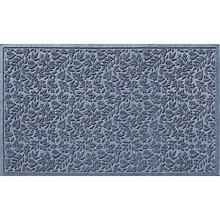 Waterhog Fall Day 3' x 5' Estate Mat, Bluestone, large