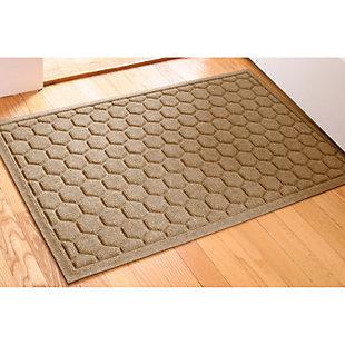 Waterhog Honeycomb 2' x 3' Doormat, Camel, rollover