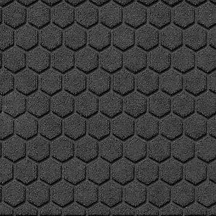 Waterhog Honeycomb 2' x 3' Doormat, Charcoal, large
