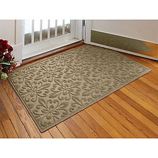 Waterhog Phoenix  3' x 5' Doormat, Camel, rollover