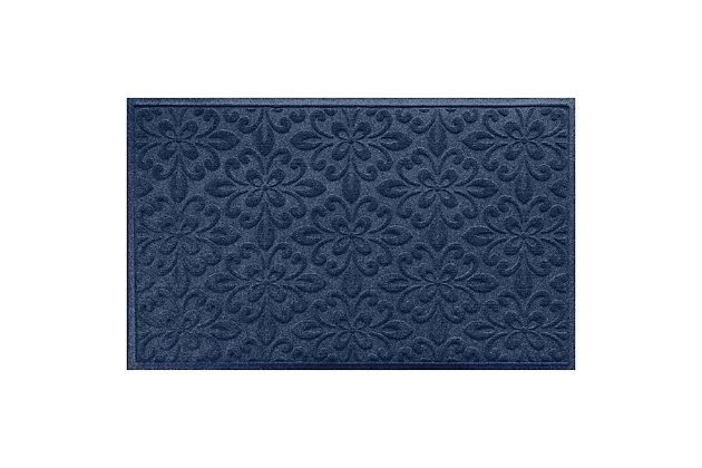 Waterhog Phoenix  3' x 5' Doormat, Bordeaux, large