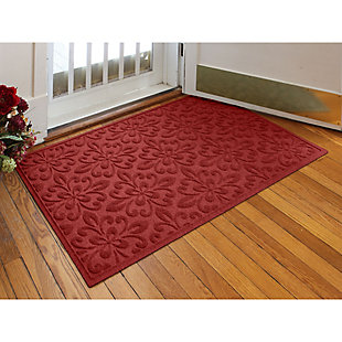 Waterhog Phoenix  3' x 5' Doormat, Red, large