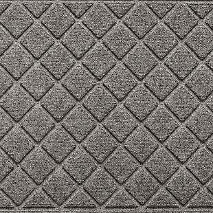 Waterhog Tristan 3' x 5' Doormat, Medium Gray, large